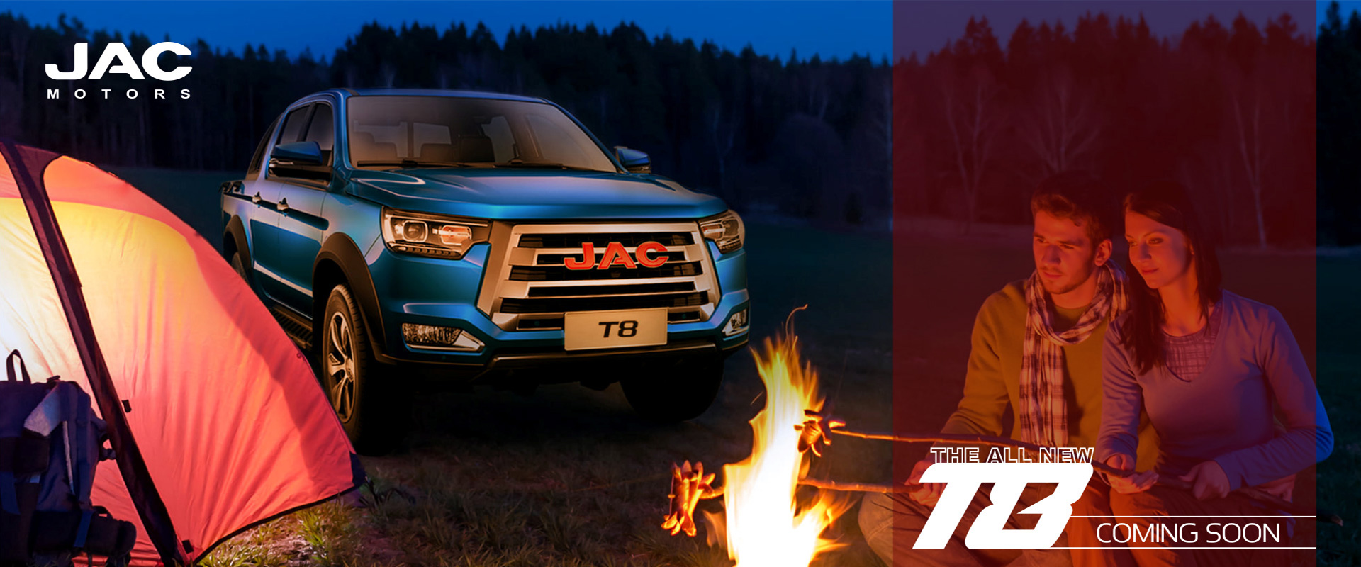 JAC T8 Coming soon