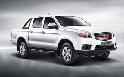 JAC Motors' reliable T6 double-cab geared for hard work